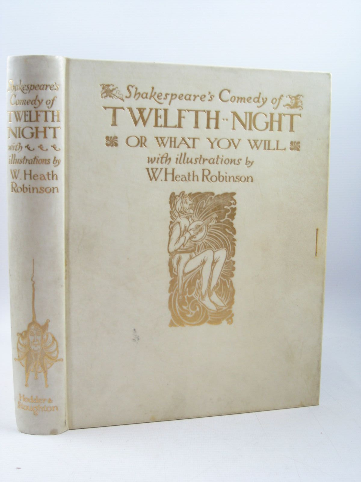 Photo of SHAKESPEARE'S COMEDY OF TWELFTH NIGHT OR WHAT YOU WILL- Stock Number: 1314200