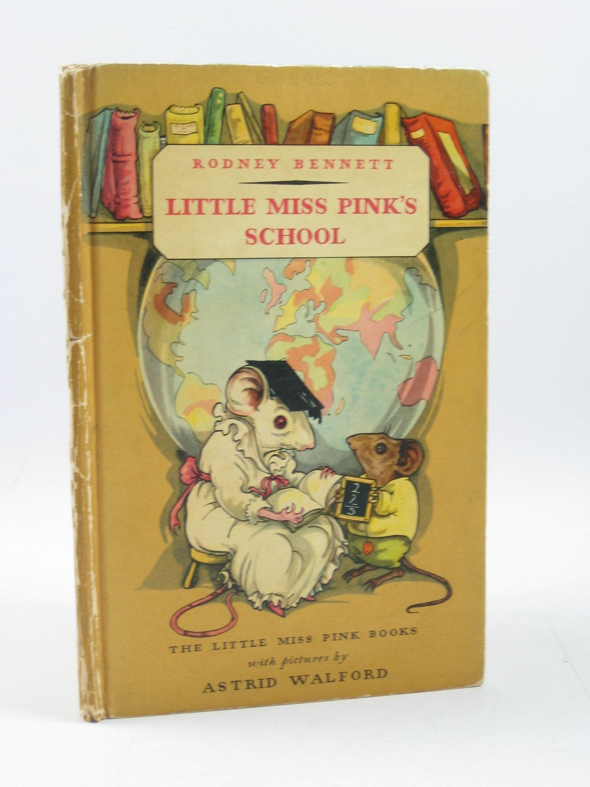 Photo of LITTLE MISS PINK'S SCHOOL written by Bennett, Rodney illustrated by Walford, Astrid published by George G. Harrap & Co. Ltd. (STOCK CODE: 1314213)  for sale by Stella & Rose's Books
