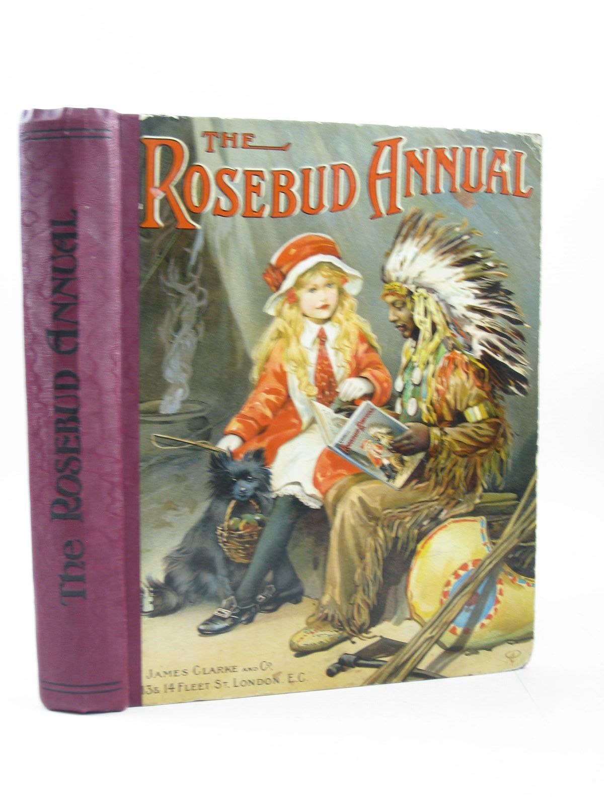 Photo of THE ROSEBUD ANNUAL 1915- Stock Number: 1314219
