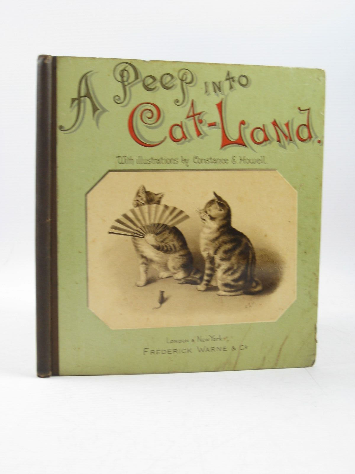 Photo of A PEEP INTO CAT-LAND written by Dawson, Aimee De V. et al, illustrated by Howell, Constance E. published by Frederick Warne & Co. (STOCK CODE: 1314249)  for sale by Stella & Rose's Books