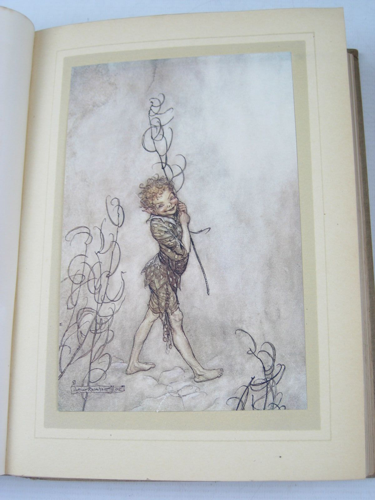 Photo of A MIDSUMMER NIGHT'S DREAM written by Shakespeare, William illustrated by Rackham, Arthur published by William Heinemann (STOCK CODE: 1314309)  for sale by Stella & Rose's Books