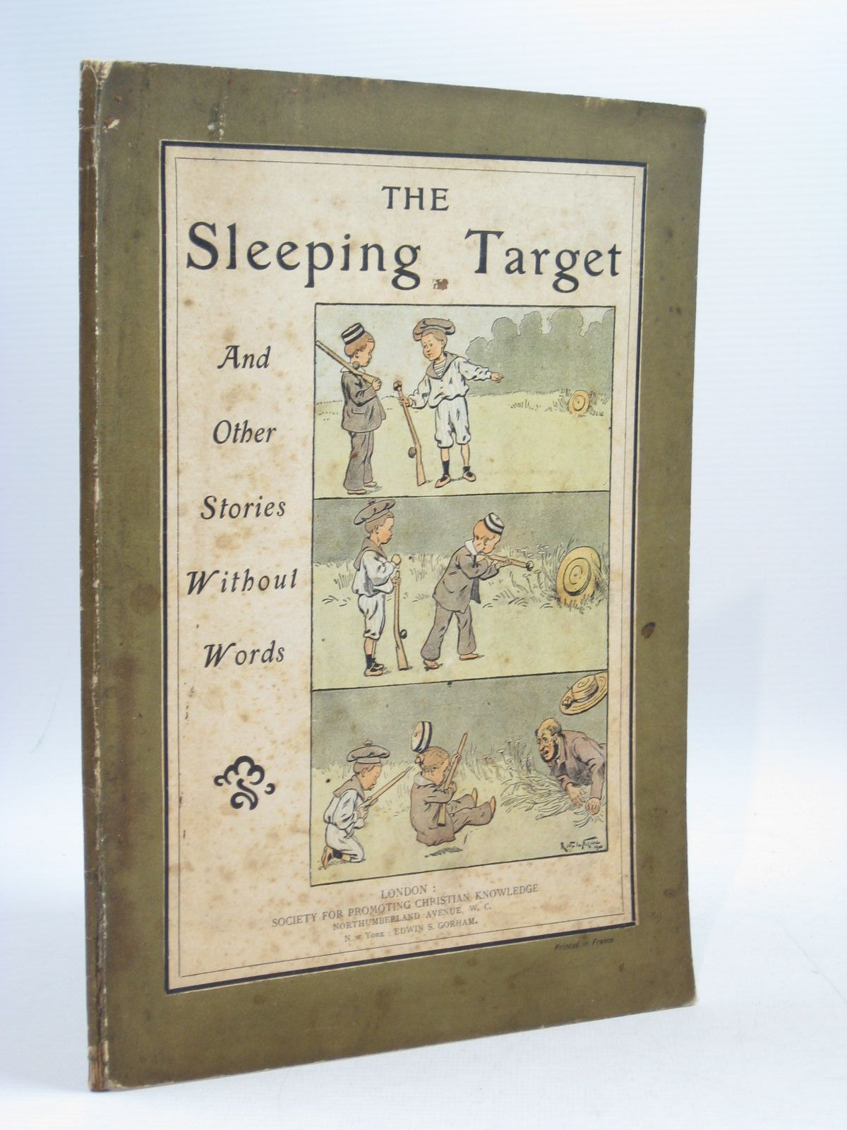 Photo of THE SLEEPING TARGET AND OTHER STORIES WITHOUT WORDS published by Society for Promoting Christian Knowledge (STOCK CODE: 1314426)  for sale by Stella & Rose's Books