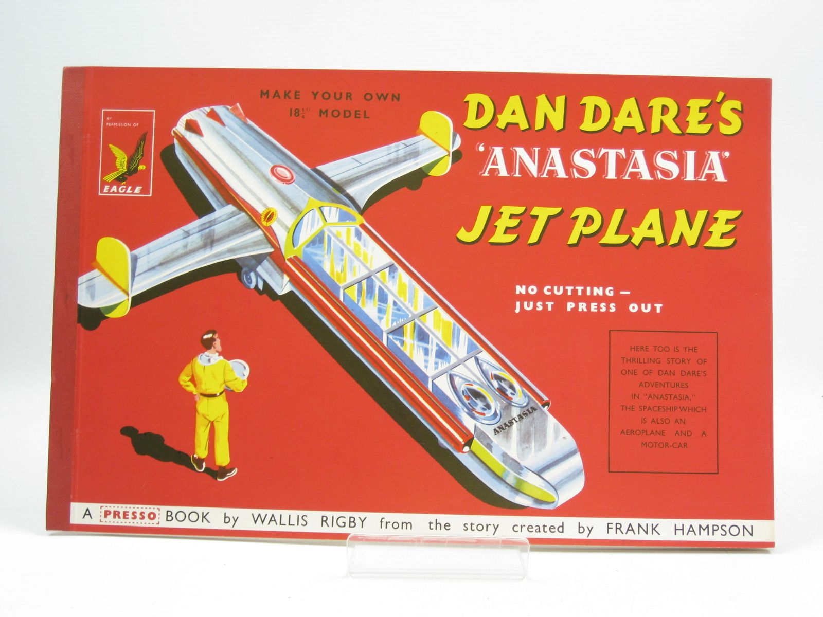 Photo of DAN DARE'S ANASTASIA JET PLANE written by Rigby, Wallis