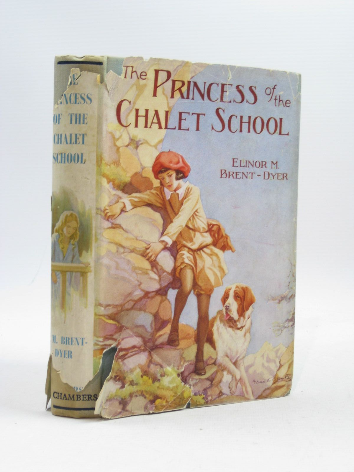 Photo of THE PRINCESS OF THE CHALET SCHOOL- Stock Number: 1314501
