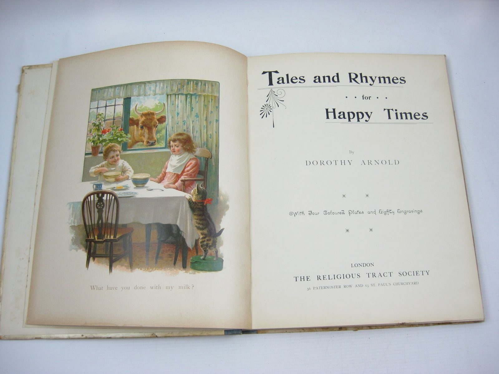 Photo of TALES AND RHYMES FOR HAPPY TIMES written by Arnold, Dorothy published by The Religious Tract Society (STOCK CODE: 1314516)  for sale by Stella & Rose's Books
