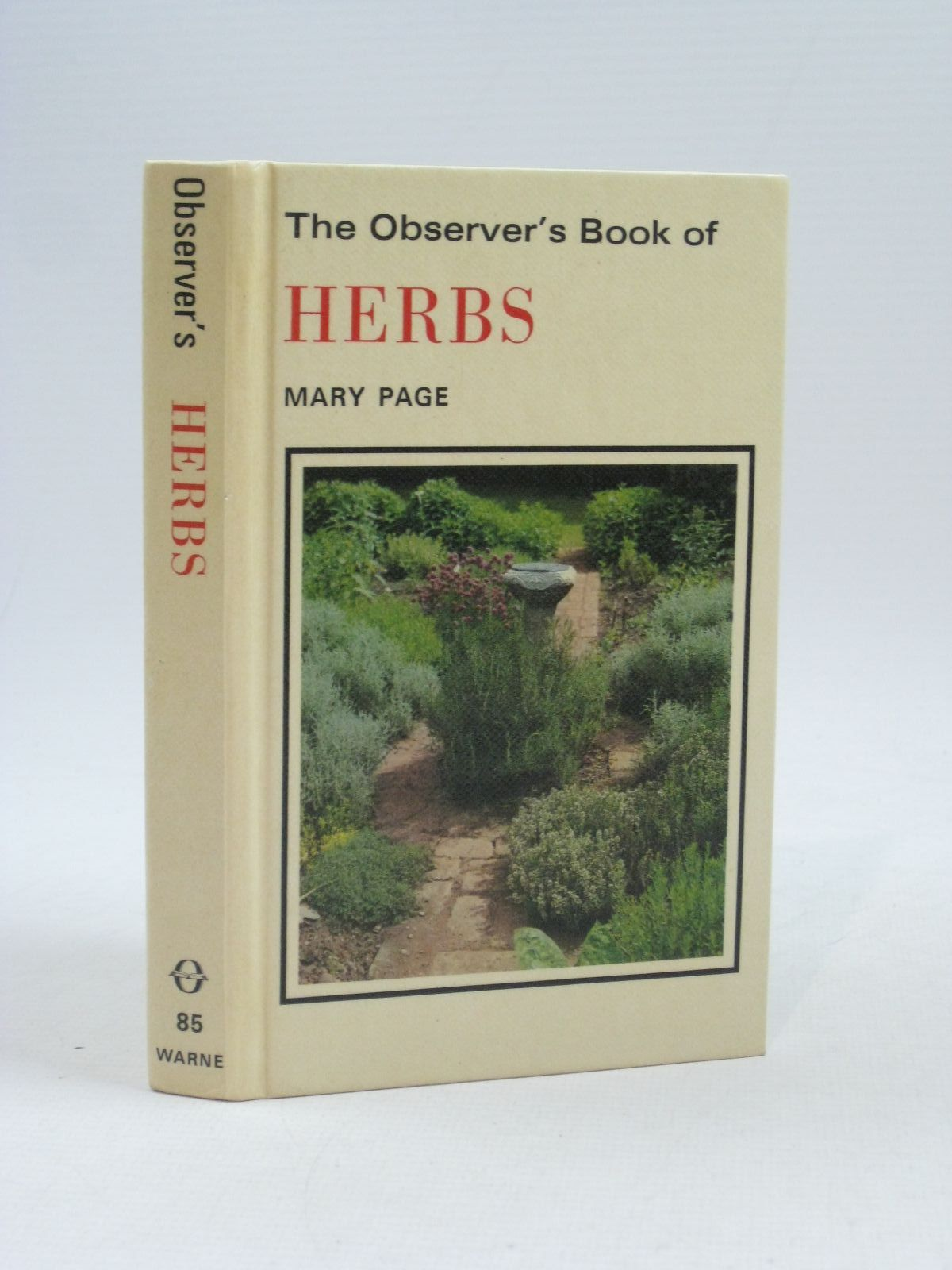 Photo of THE OBSERVER'S BOOK OF HERBS written by Page, Mary illustrated by Barber, Norman published by Frederick Warne & Co Ltd. (STOCK CODE: 1314604)  for sale by Stella & Rose's Books