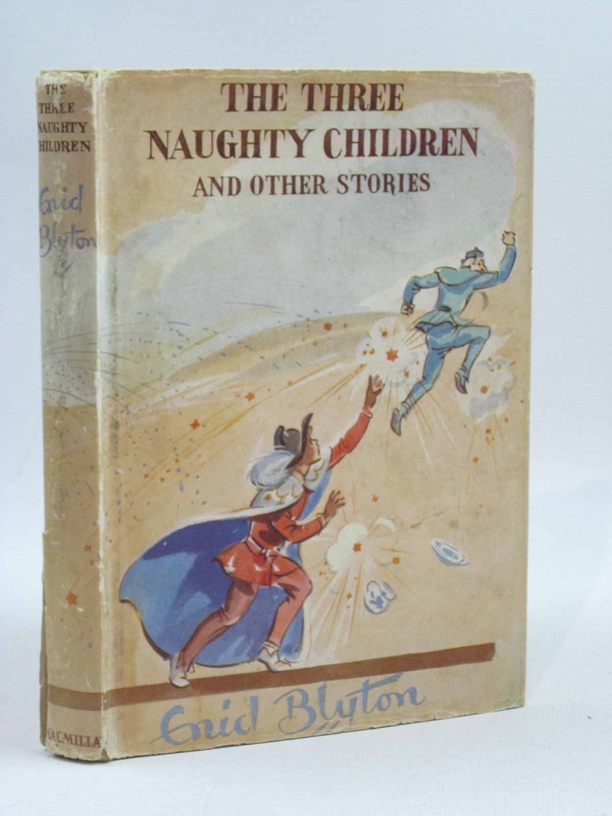 Photo of THE THREE NAUGHTY CHILDREN written by Blyton, Enid illustrated by Soper, Eileen published by Macmillan & Co. Ltd. (STOCK CODE: 1314610)  for sale by Stella & Rose's Books