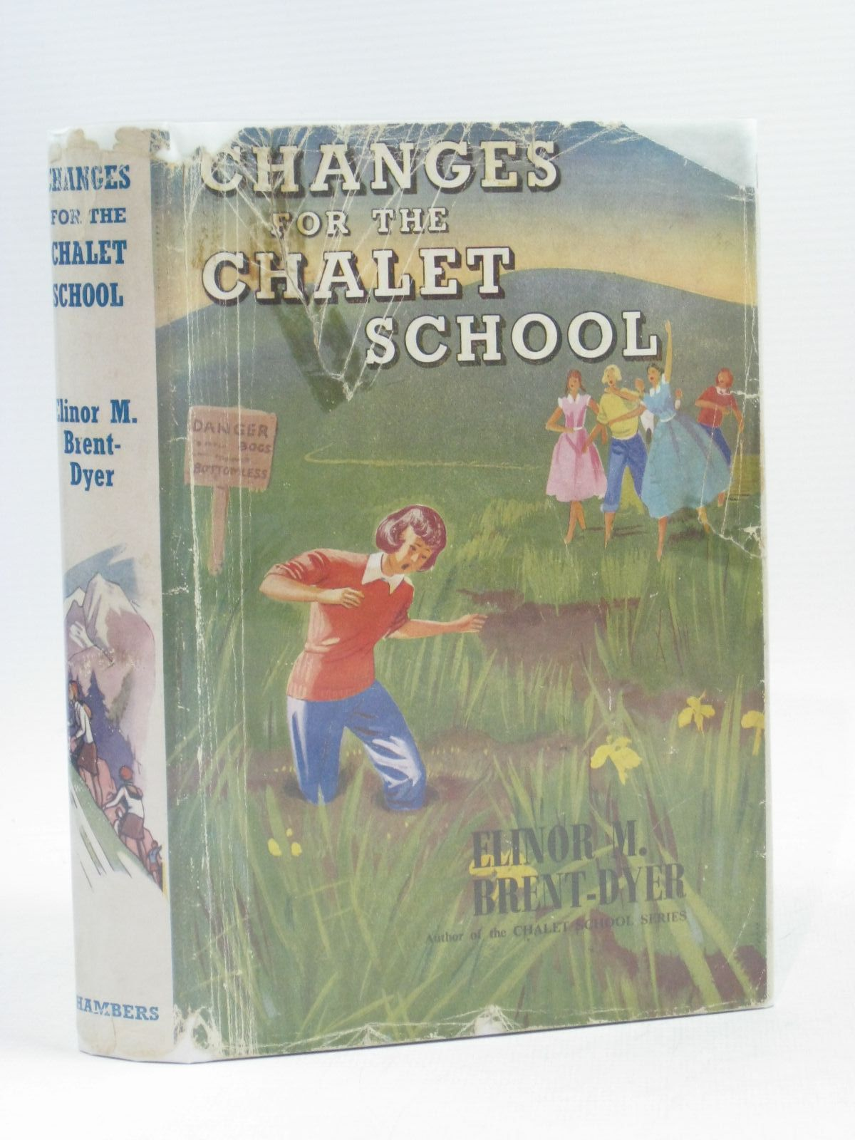 Photo of CHANGES FOR THE CHALET SCHOOL written by Brent-Dyer, Elinor M. published by W. & R. Chambers Limited (STOCK CODE: 1314619)  for sale by Stella & Rose's Books