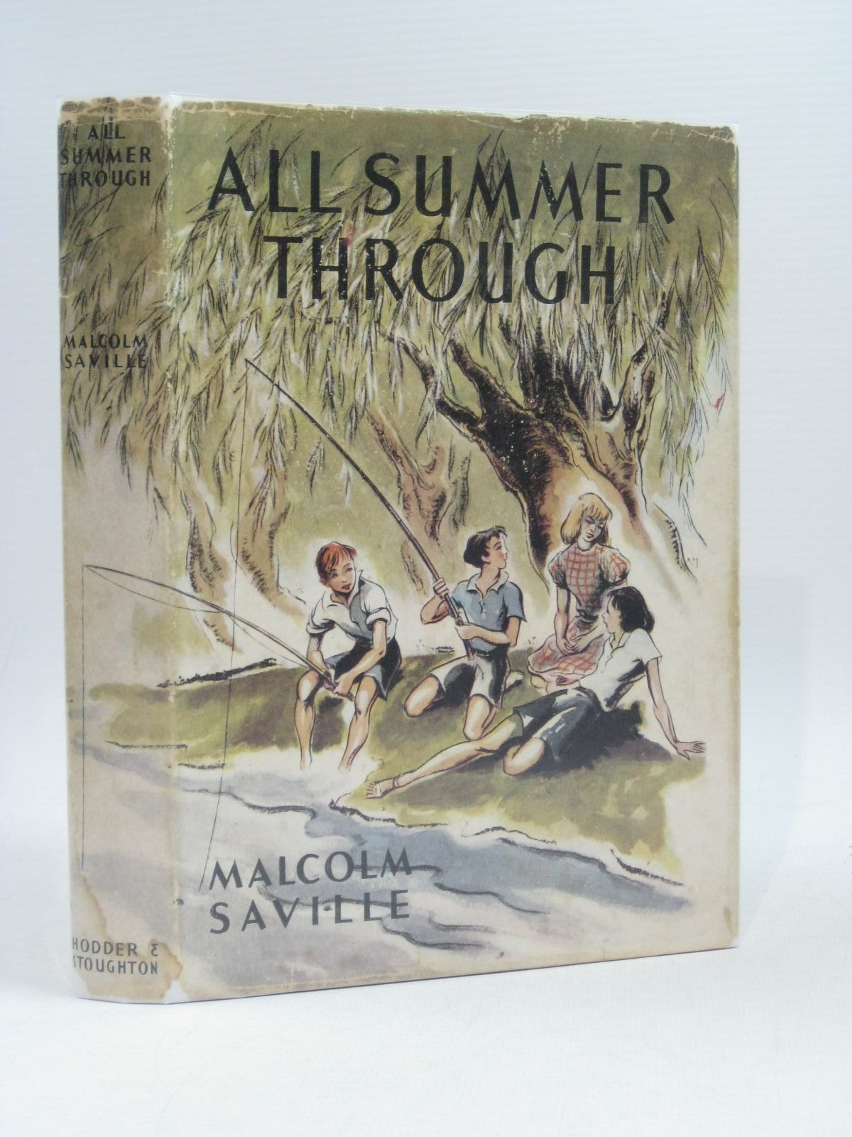 Photo of ALL SUMMER THROUGH written by Saville, Malcolm illustrated by Kiddell-Monroe, Joan published by Hodder & Stoughton (STOCK CODE: 1314622)  for sale by Stella & Rose's Books