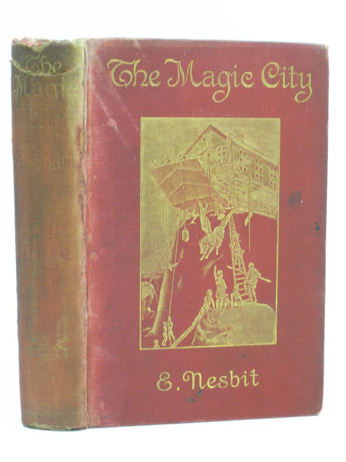 Photo of THE MAGIC CITY written by Nesbit, E. illustrated by Millar, H.R. published by Macmillan & Co. Ltd. (STOCK CODE: 1314626)  for sale by Stella & Rose's Books