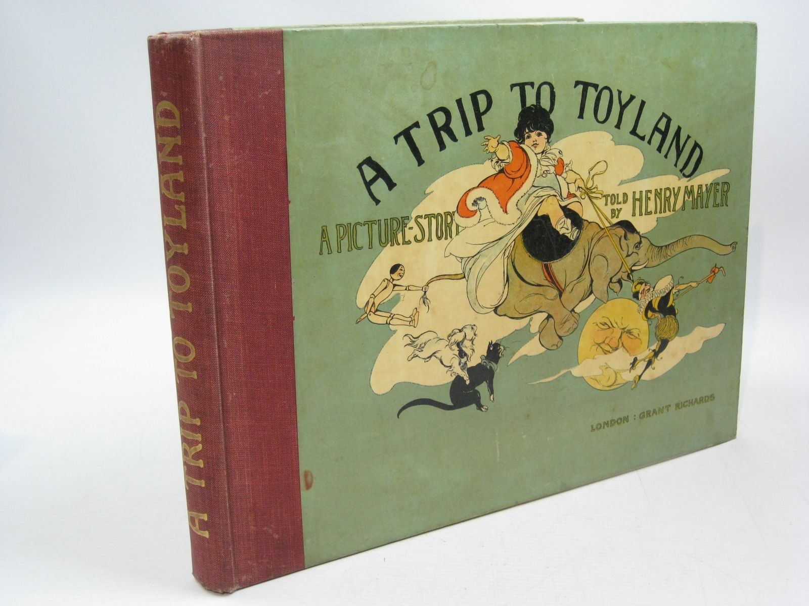 Photo of A TRIP TO TOYLAND written by Mayer, Henry illustrated by Mayer, Henry published by Grant Richards (STOCK CODE: 1314646)  for sale by Stella & Rose's Books
