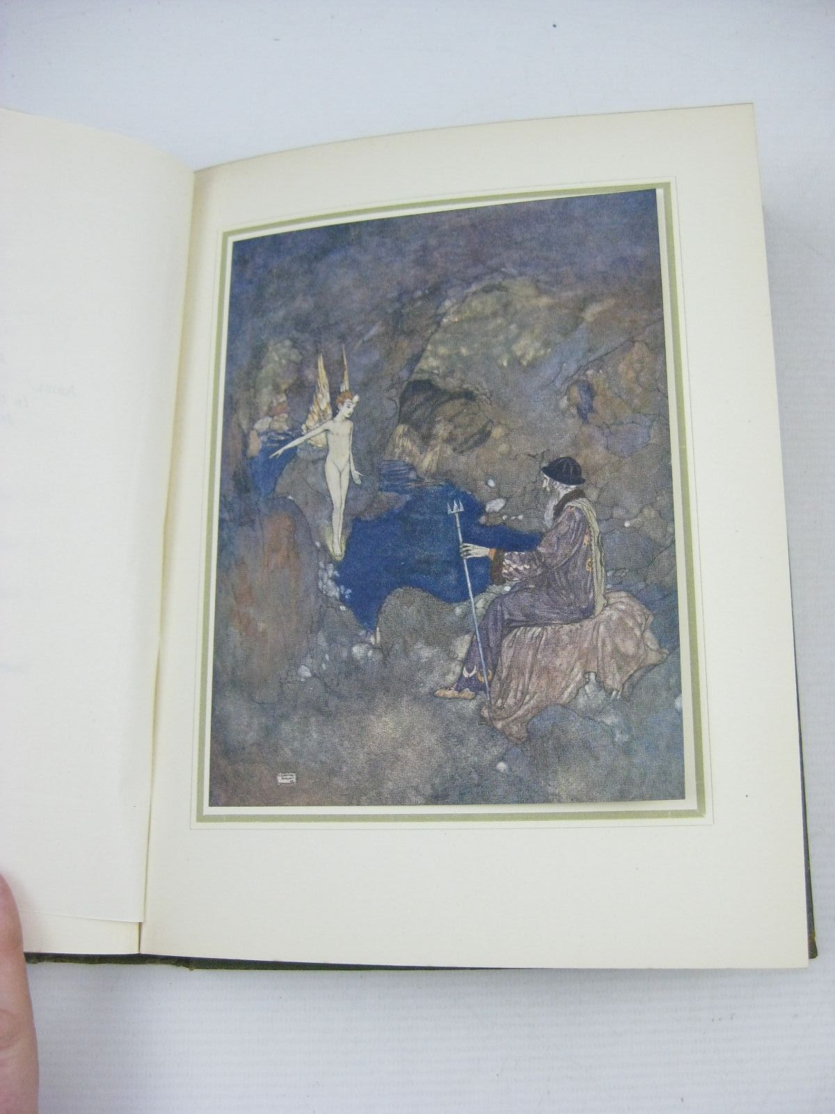 Photo of SHAKESPEARE'S COMEDY OF THE TEMPEST written by Shakespeare, William illustrated by Dulac, Edmund published by Hodder & Stoughton (STOCK CODE: 1314678)  for sale by Stella & Rose's Books