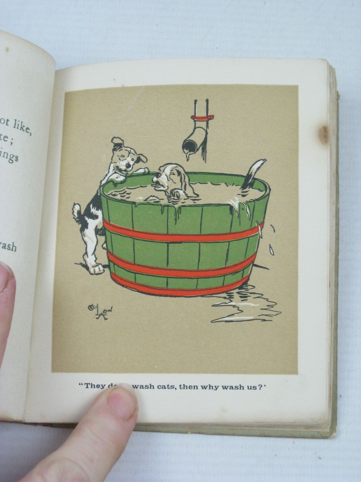 Photo of PUPPY TAILS written by Waylett, Richard illustrated by Aldin, Cecil published by Society for Promoting Christian Knowledge (STOCK CODE: 1314820)  for sale by Stella & Rose's Books