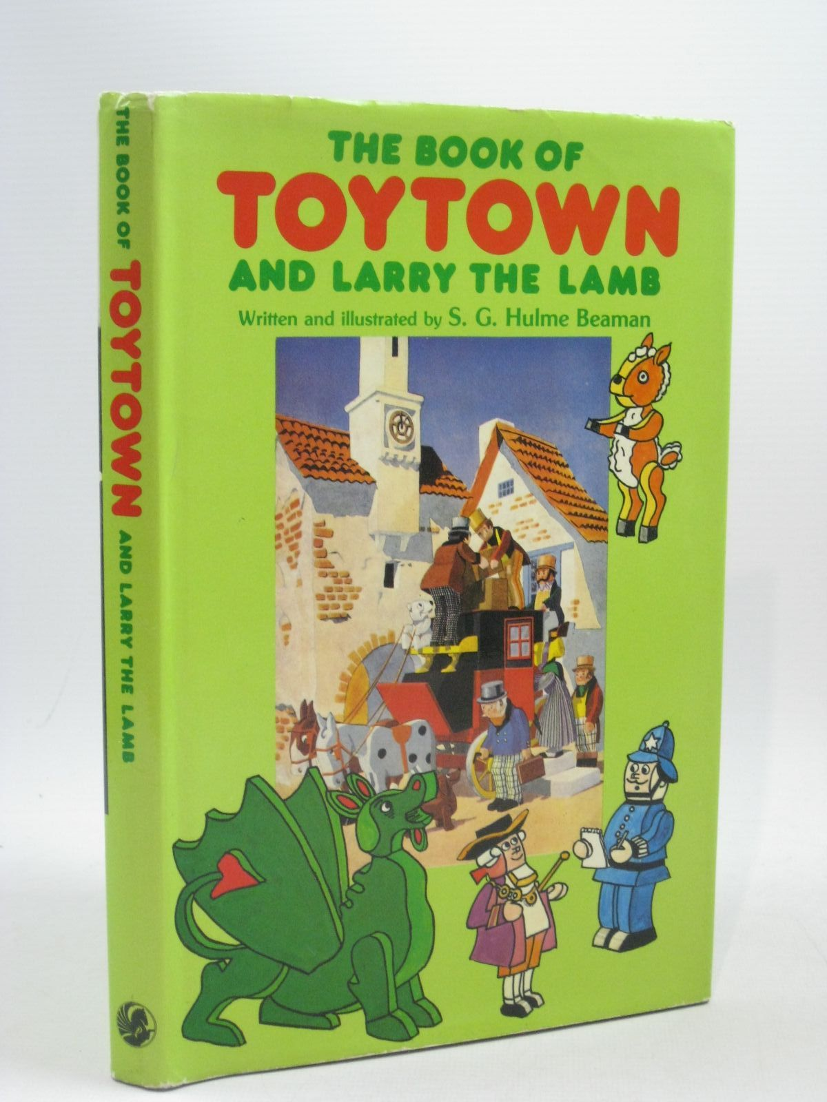Photo of THE BOOK OF TOYTOWN AND LARRY THE LAMB written by Beaman, S.G. Hulme illustrated by Beaman, S.G. Hulme published by George G. Harrap & Co. Ltd. (STOCK CODE: 1314837)  for sale by Stella & Rose's Books