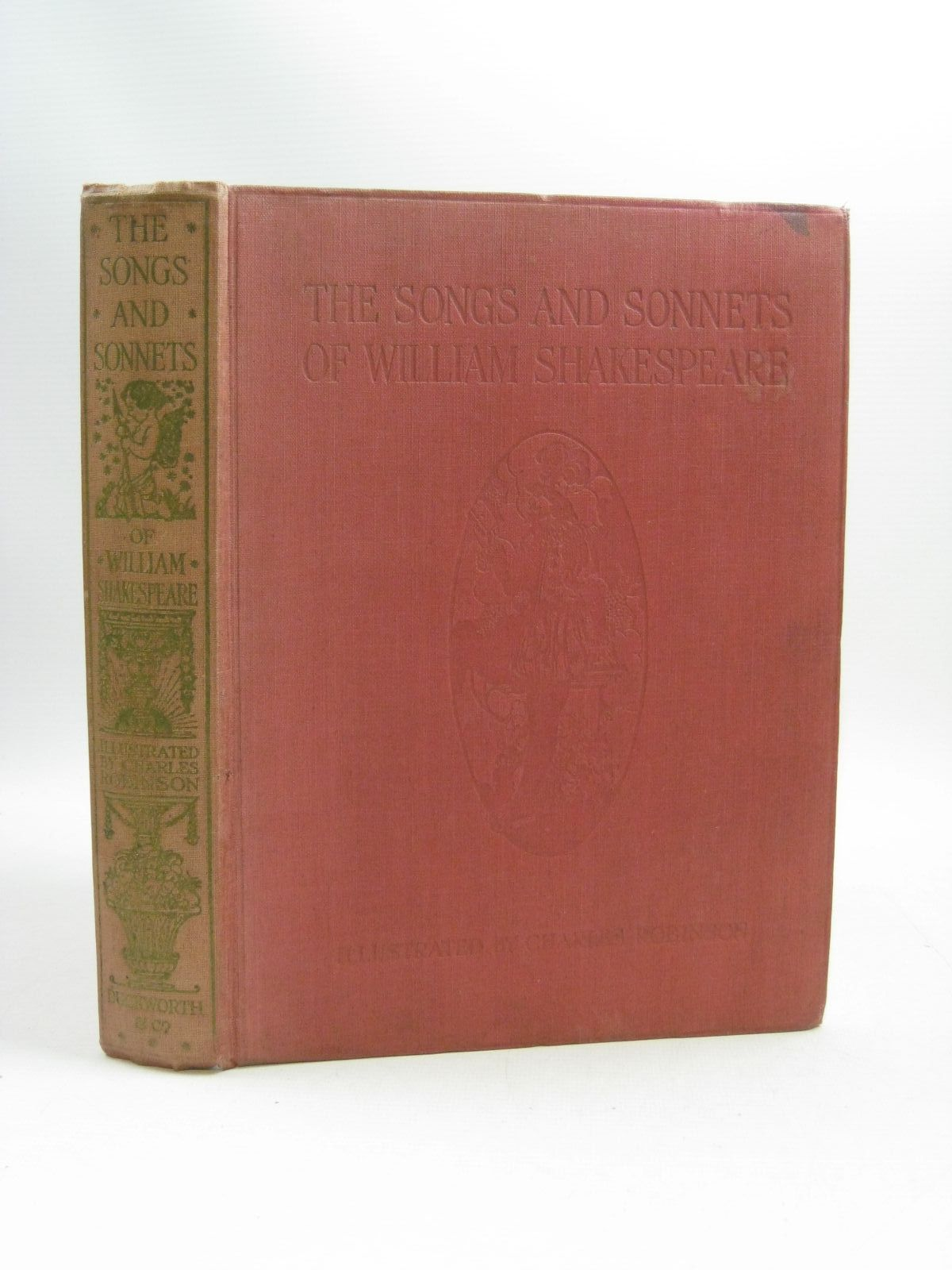 Photo of THE SONGS AND SONNETS OF WILLIAM SHAKESPEARE- Stock Number: 1314865