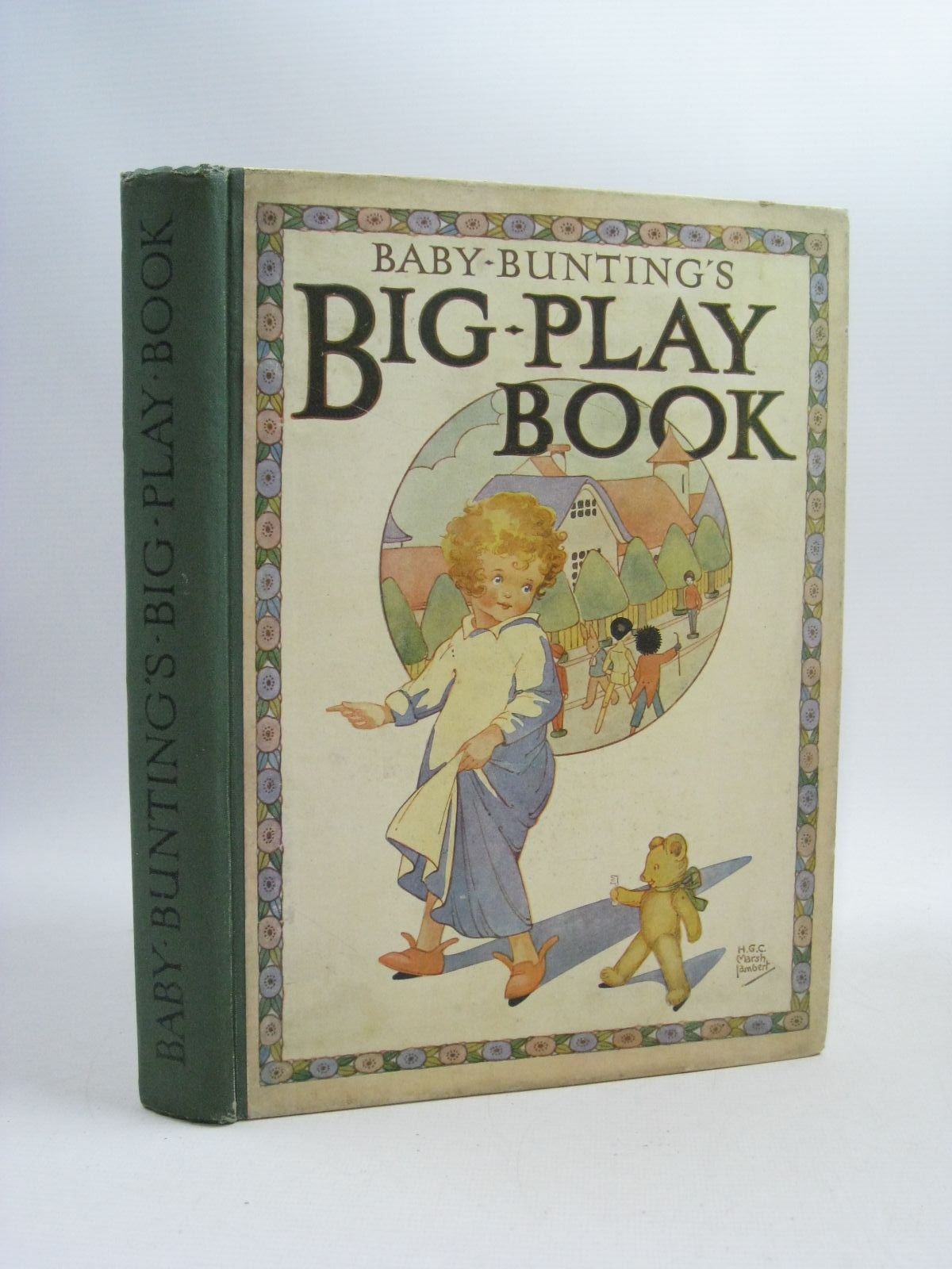 Photo of BABY BUNTING'S BIG PLAY BOOK written by Lambert, H.G.C. Marsh illustrated by Lambert, H.G.C. Marsh published by Ward, Lock & Co. Limited (STOCK CODE: 1314878)  for sale by Stella & Rose's Books