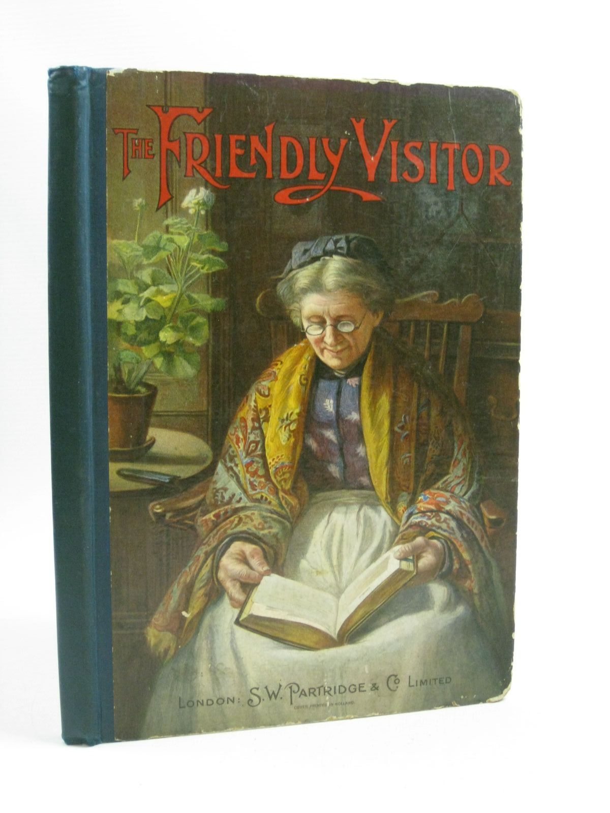 Photo of THE FRIENDLY VISITOR - FORTY-FOURTH VOLUME written by Various, illustrated by Various, published by S.W. Partridge & Co. Ltd. (STOCK CODE: 1314880)  for sale by Stella & Rose's Books