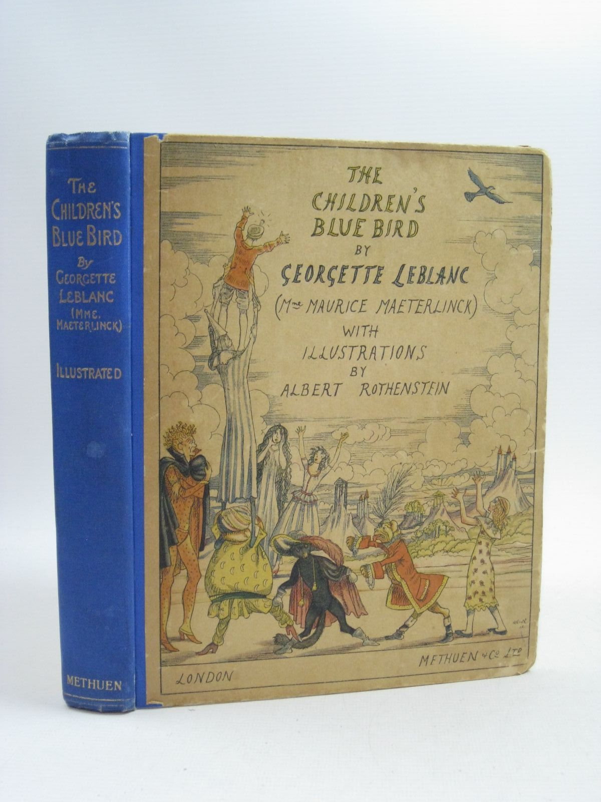 Photo of THE CHILDREN'S BLUE BIRD written by Leblanc, Georgette illustrated by Rothenstein, Albert published by Methuen & Co. Ltd. (STOCK CODE: 1314890)  for sale by Stella & Rose's Books