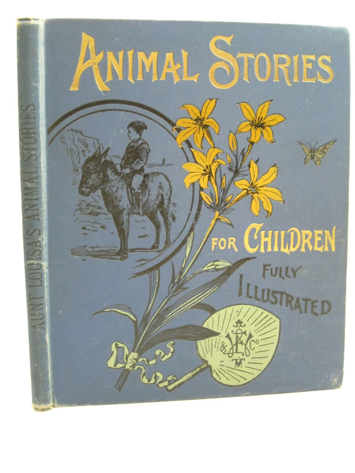Photo of AUNT LOUISA'S BOOK OF ANIMAL STORIES written by Valentine, Mrs. L. published by Frederick Warne & Co. (STOCK CODE: 1314901)  for sale by Stella & Rose's Books