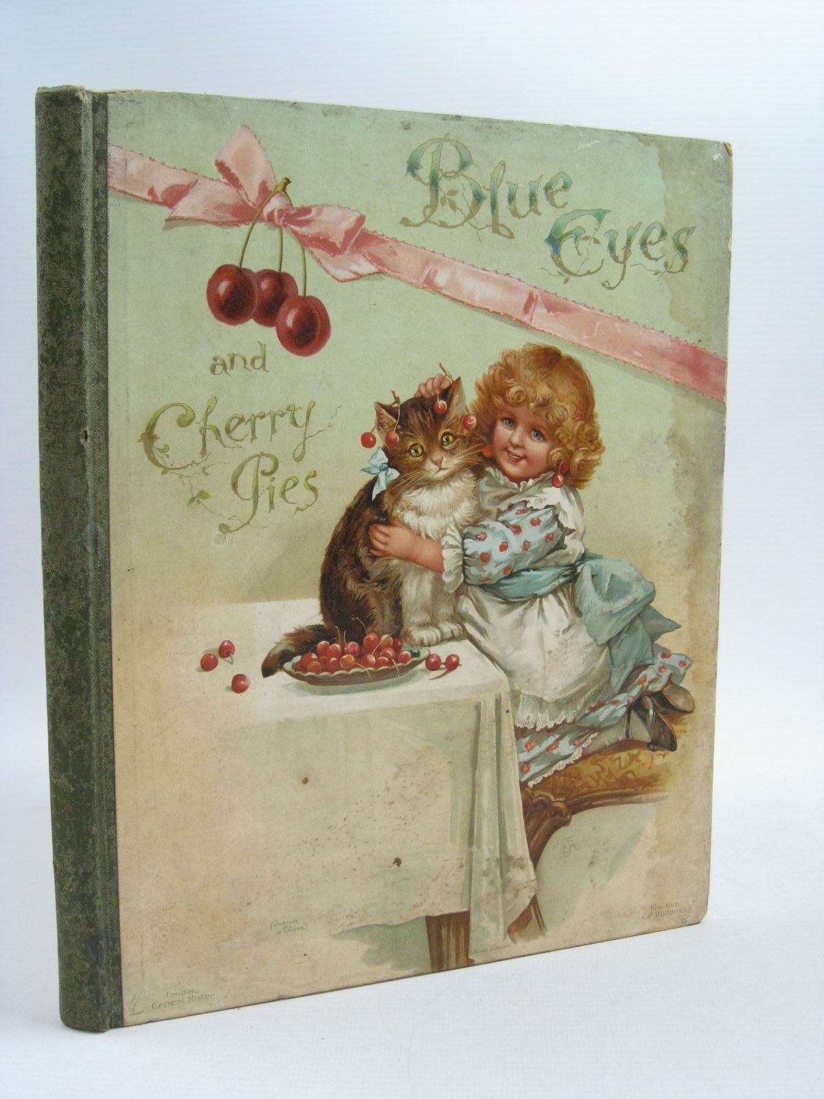 Photo of BLUE EYES AND CHERRY PIES written by Crompton, Frances E.<br />Weatherly, F.E.<br />Molesworth, Mrs.<br />Bingham, Clifton<br />et al, illustrated by Maguire, Helena<br />Paget, Walter<br />Mack, Lizzie<br />et al., published by Ernest Nister (STOCK CODE: 1314907)  for sale by Stella & Rose's Books