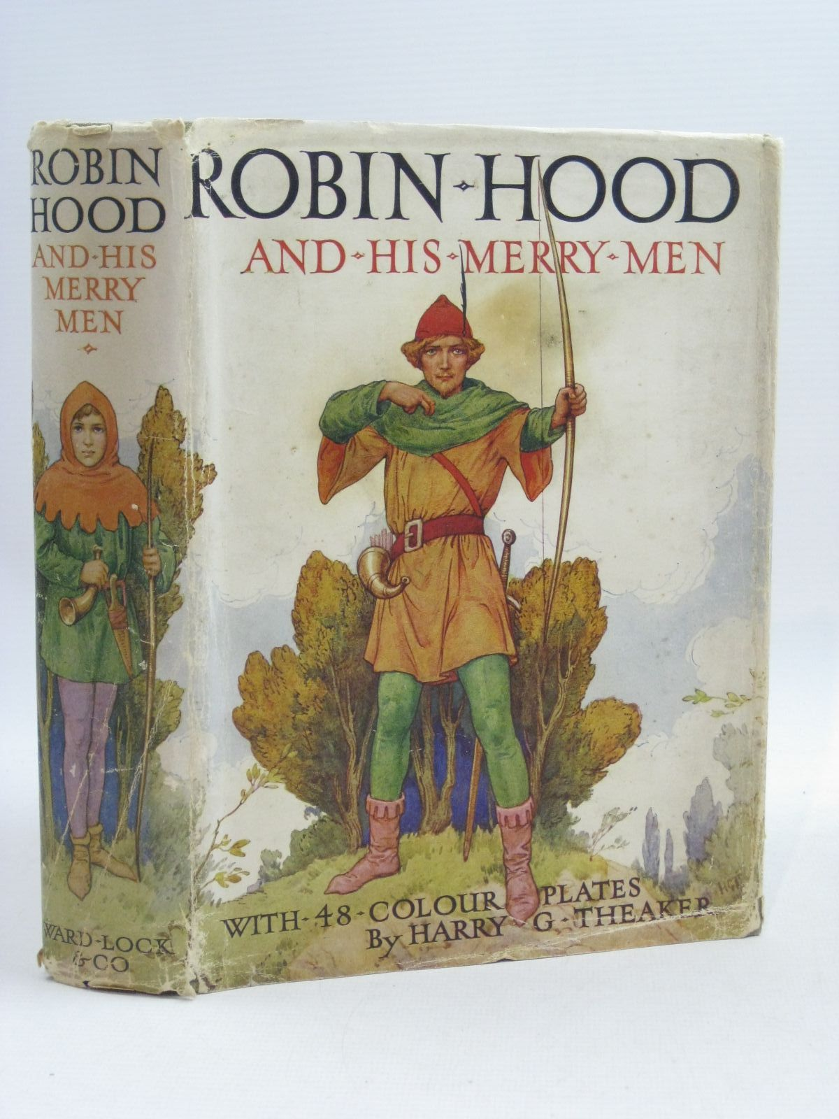 Photo of ROBIN HOOD AND HIS MERRY MEN written by Vivian, E. Charles illustrated by Theaker, Harry published by Ward Lock & Co Ltd. (STOCK CODE: 1314949)  for sale by Stella & Rose's Books