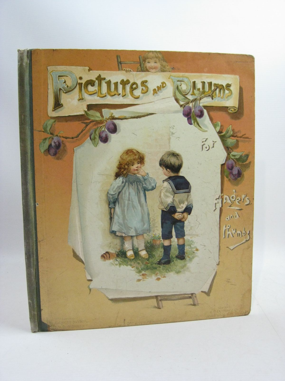 Photo of PICTURES AND PLUMS FOR FINGERS AND THUMBS written by Vredenburg, Edric et al, published by Ernest Nister, E.P. Dutton & Co. (STOCK CODE: 1314999)  for sale by Stella & Rose's Books