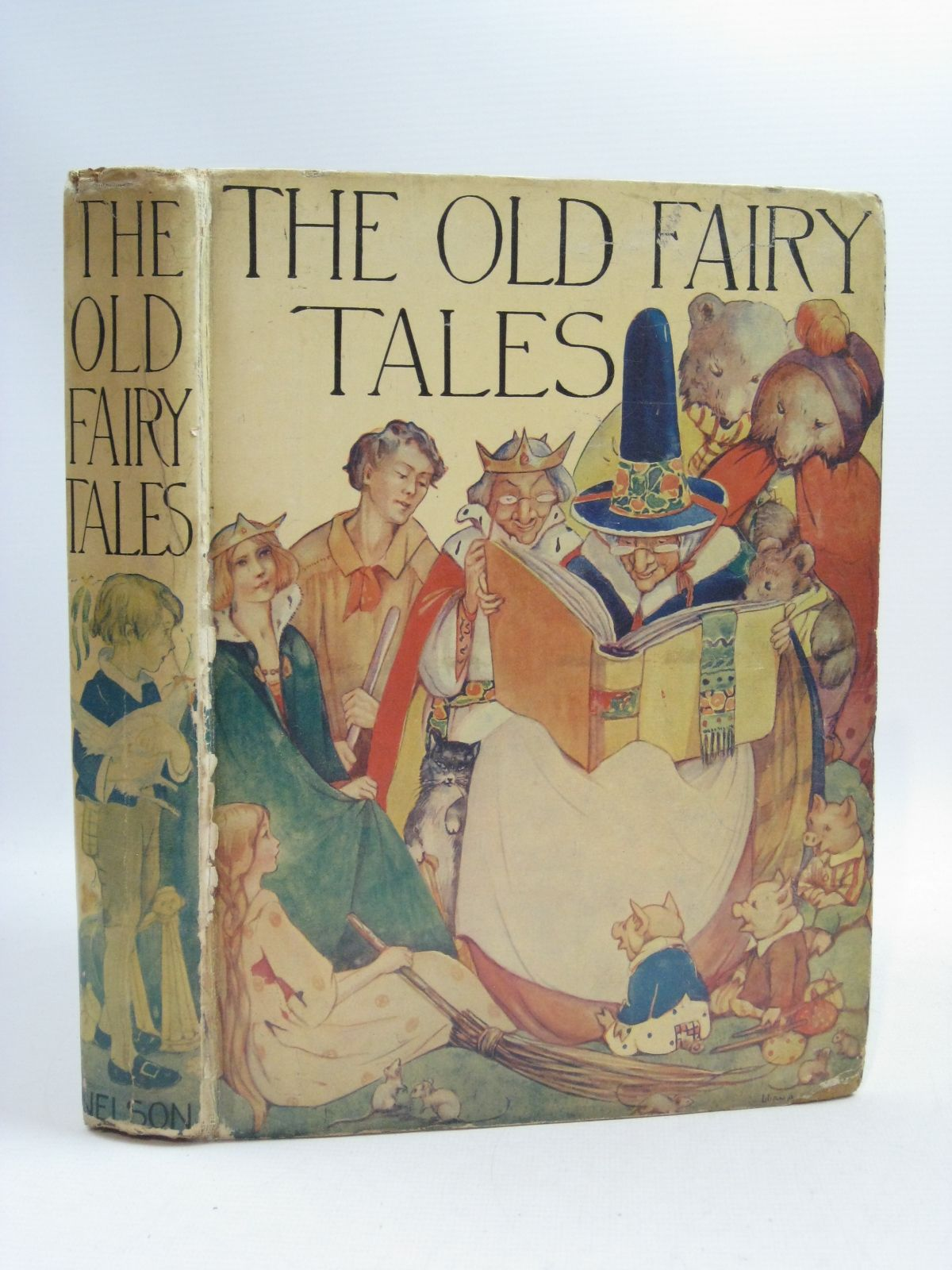 Photo of THE OLD FAIRY TALES illustrated by Govey, Lilian A. published by Thomas Nelson and Sons Ltd. (STOCK CODE: 1315081)  for sale by Stella & Rose's Books