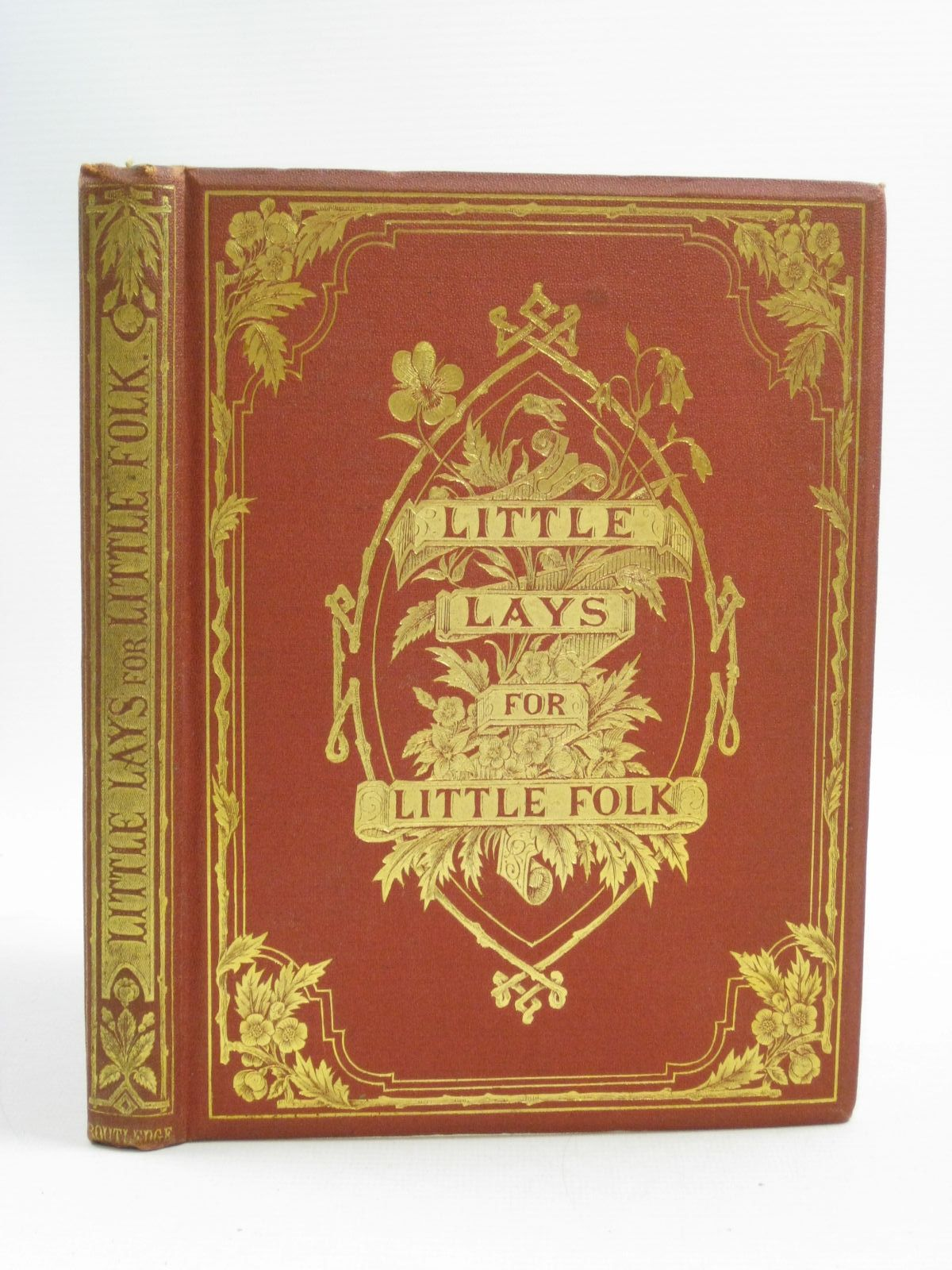 Photo of LITTLE LAYS FOR LITTLE FOLK written by Watts, John G. illustrated by Barnes, R.