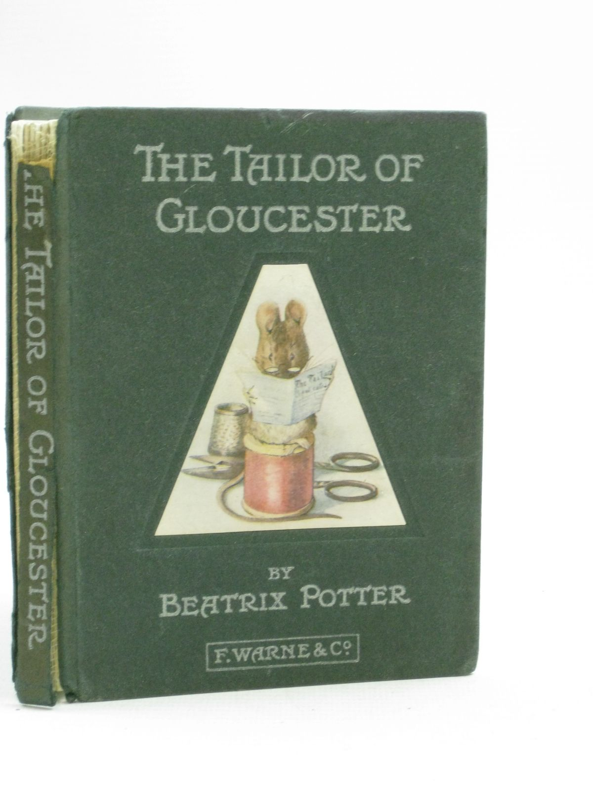 Photo of THE TAILOR OF GLOUCESTER written by Potter, Beatrix illustrated by Potter, Beatrix published by Frederick Warne & Co. (STOCK CODE: 1315130)  for sale by Stella & Rose's Books