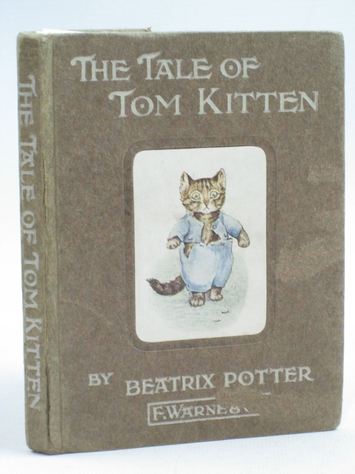 Photo of THE TALE OF TOM KITTEN written by Potter, Beatrix illustrated by Potter, Beatrix published by Frederick Warne & Co. (STOCK CODE: 1315136)  for sale by Stella & Rose's Books