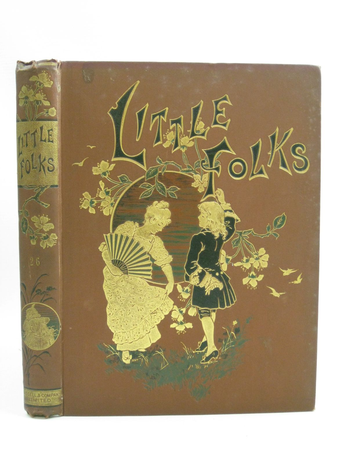 Photo of LITTLE FOLKS VOL 26 written by Molesworth, Mrs. et al, illustrated by Havers, Alice Paget, Walter et al., published by Cassell & Company Limited (STOCK CODE: 1315182)  for sale by Stella & Rose's Books