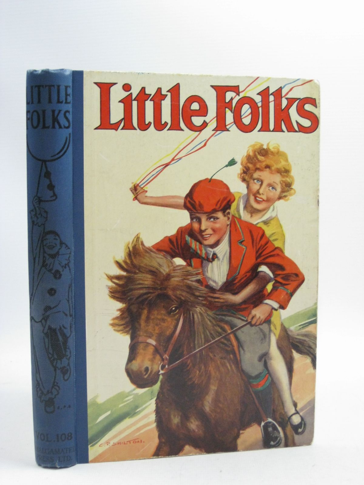 Photo of LITTLE FOLKS 1928 written by Parry, D.H. Chaundler, Christine Hayes, Nancy M. Talbot, Ethel Oxenham, Elsie J. et al, illustrated by Brock, C.E. Earnshaw, Elizabeth Brock, H.M. et al., published by The Amalgamated Press Limited (STOCK CODE: 1315183)  for sale by Stella & Rose's Books