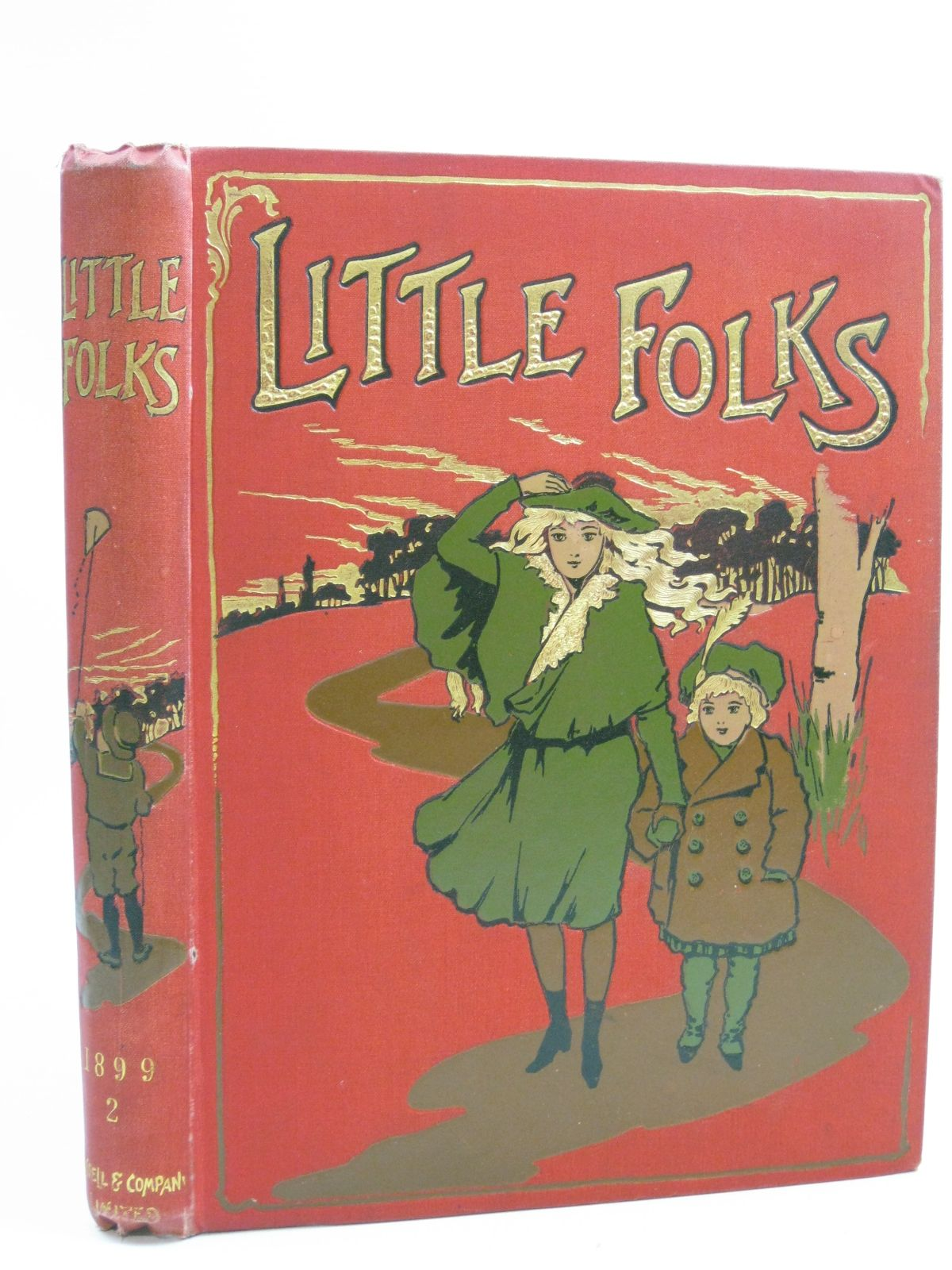 Photo of LITTLE FOLKS 1899 II written by Glasgow, G.R. Heward, S.L. et al, illustrated by Neilson, Harry B. Pearse, A. Rackham, Arthur et al., published by Cassell & Co. Ltd. (STOCK CODE: 1315184)  for sale by Stella & Rose's Books