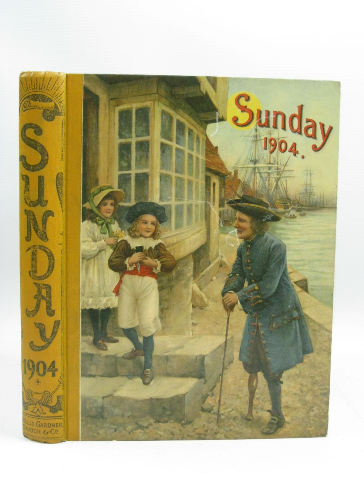 Photo of SUNDAY READING FOR THE YOUNG 1904 written by Grierson, E.W. Heward, S.L. Marchant, Bessie et al, illustrated by Browne, Gordon Walker, A.G. Miles, Helen et al., published by Wells Gardner, Darton & Co. Ltd. (STOCK CODE: 1315246)  for sale by Stella & Rose's Books