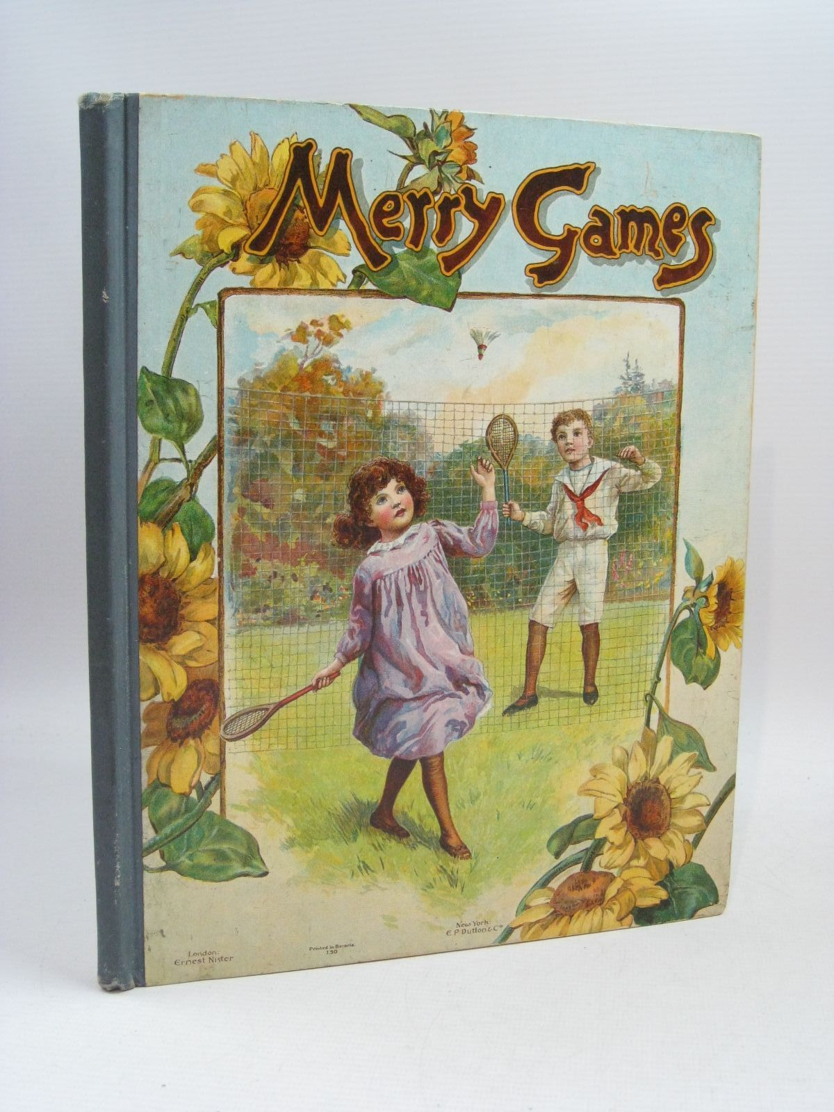 Photo of MERRY GAMES published by Ernest Nister, E.P. Dutton & Co. (STOCK CODE: 1315271)  for sale by Stella & Rose's Books