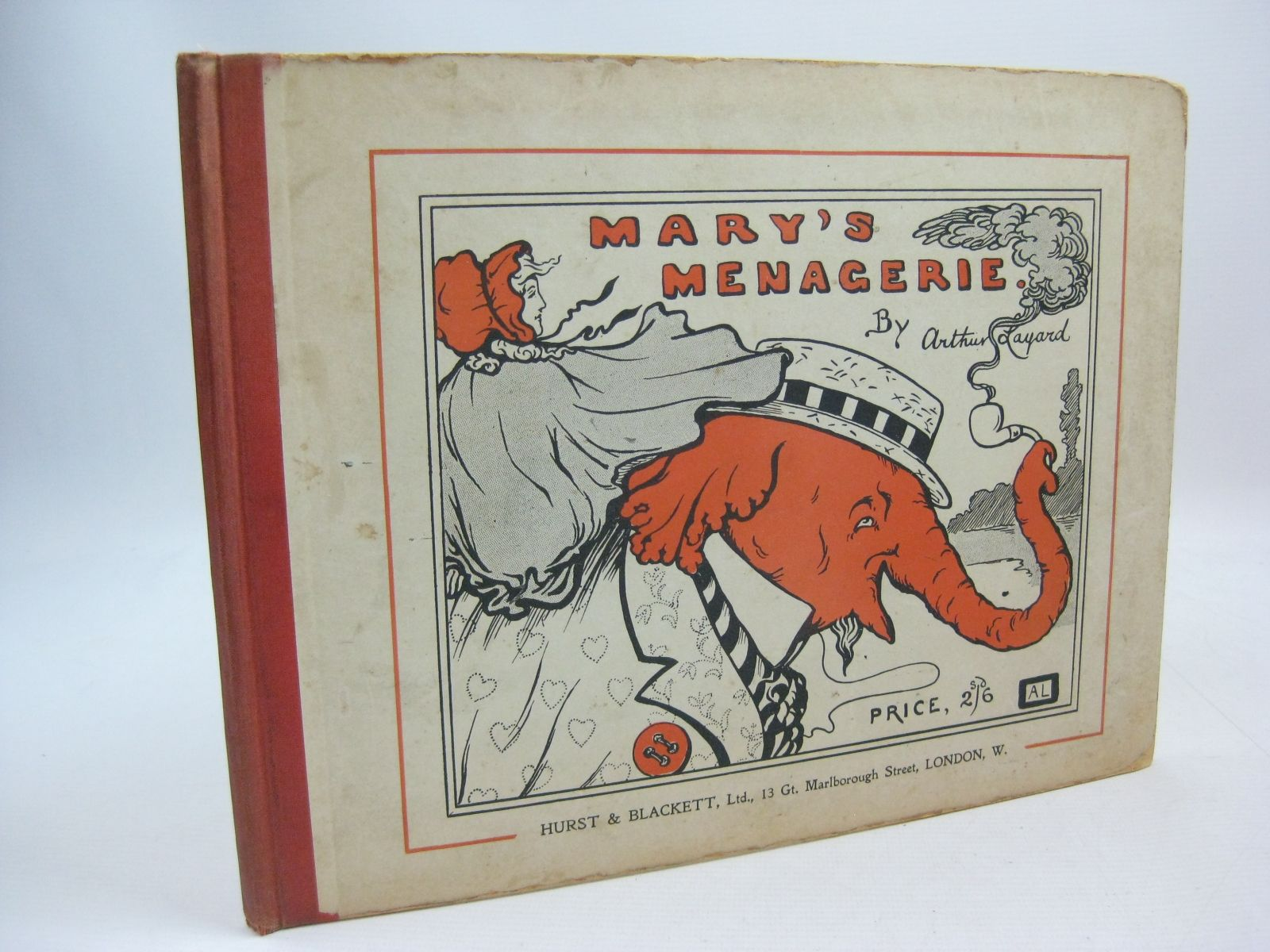Photo of MARY'S MENAGERIE written by Layard, Arthur illustrated by Layard, Arthur published by Hurst & Blackett Ltd. (STOCK CODE: 1315484)  for sale by Stella & Rose's Books