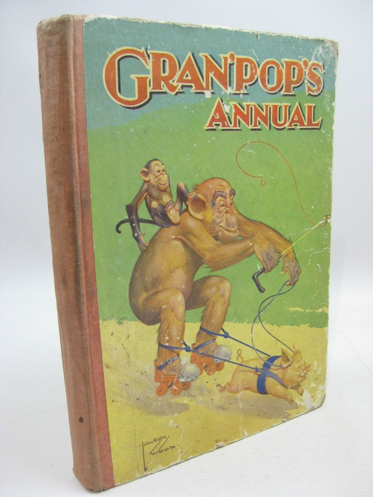 Photo of GRAN'POP'S ANNUAL written by Groom, Arthur illustrated by Wood, Lawson published by Dean & Son Ltd. (STOCK CODE: 1315512)  for sale by Stella & Rose's Books