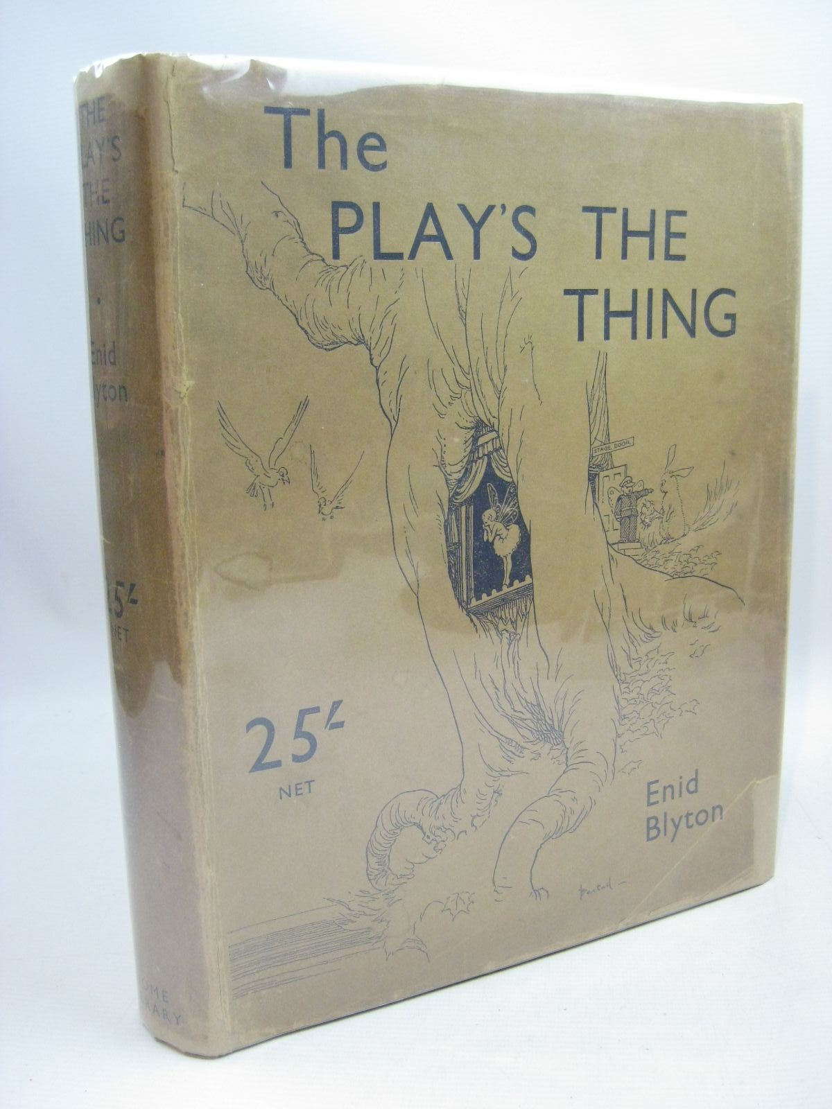 Photo of THE PLAY'S THE THING! written by Blyton, Enid illustrated by Bestall, Alfred published by The Home Library Book Company (STOCK CODE: 1315522)  for sale by Stella & Rose's Books
