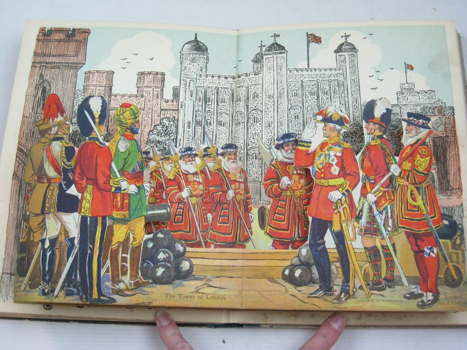 Photo of TUCK'S ANNUAL WITH REALISTIC SURPRISE PANORAMAS written by Rutley, C. Bernard Methley, Violet M. et al,  illustrated by Brock, C.E. Noble, Edwin et al.,  published by Raphael Tuck & Sons Ltd. (STOCK CODE: 1315562)  for sale by Stella & Rose's Books