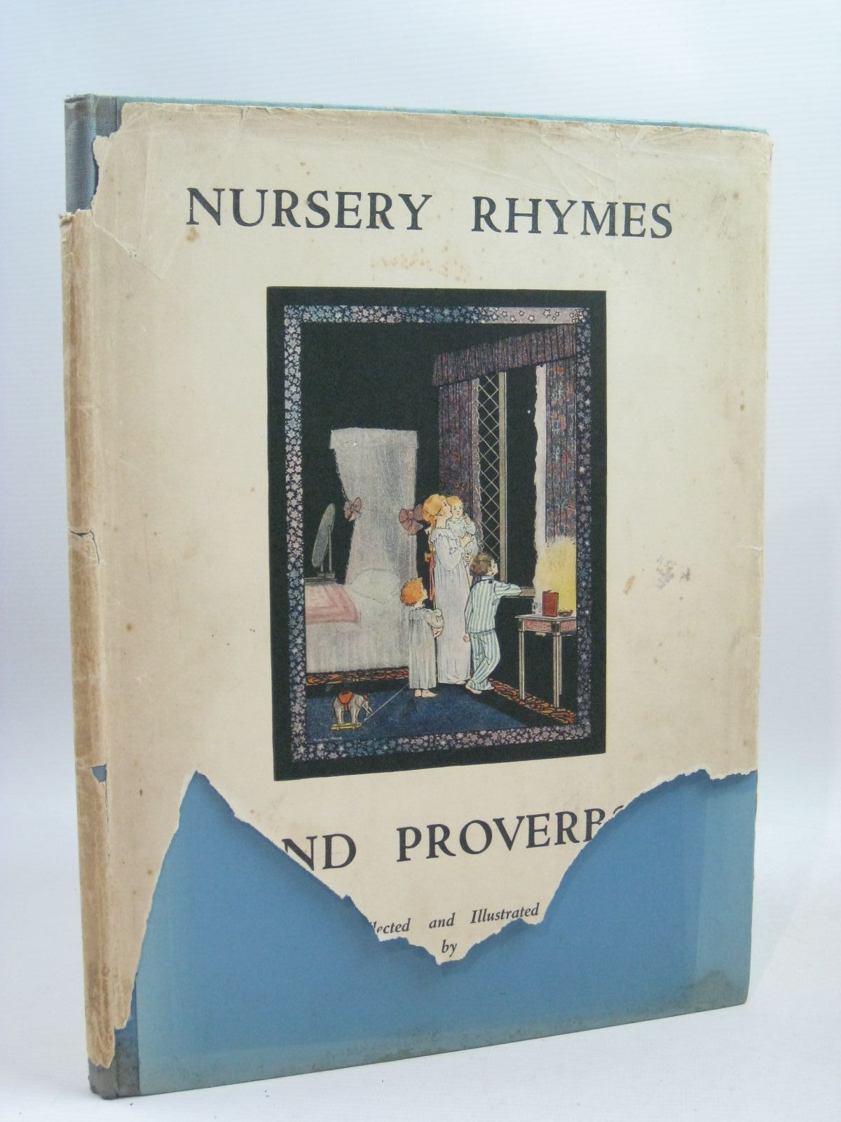 Photo of NURSERY RHYMES AND PROVERBS written by Hood, Marjory illustrated by Hood, Marjory published by Eyre & Spottiswoode Limited (STOCK CODE: 1315586)  for sale by Stella & Rose's Books