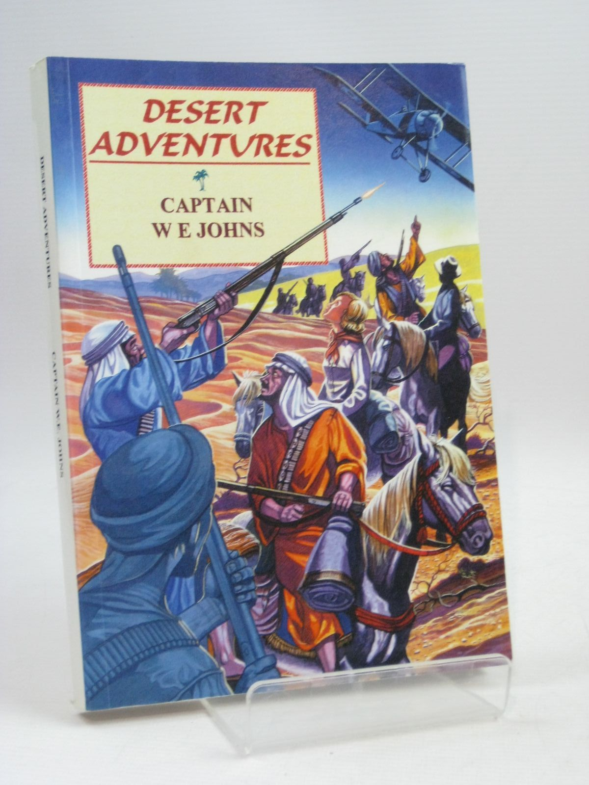 Photo of DESERT ADVENTURES written by Johns, W.E. illustrated by Skilleter, Andrew published by Norman Wright (STOCK CODE: 1315603)  for sale by Stella & Rose's Books