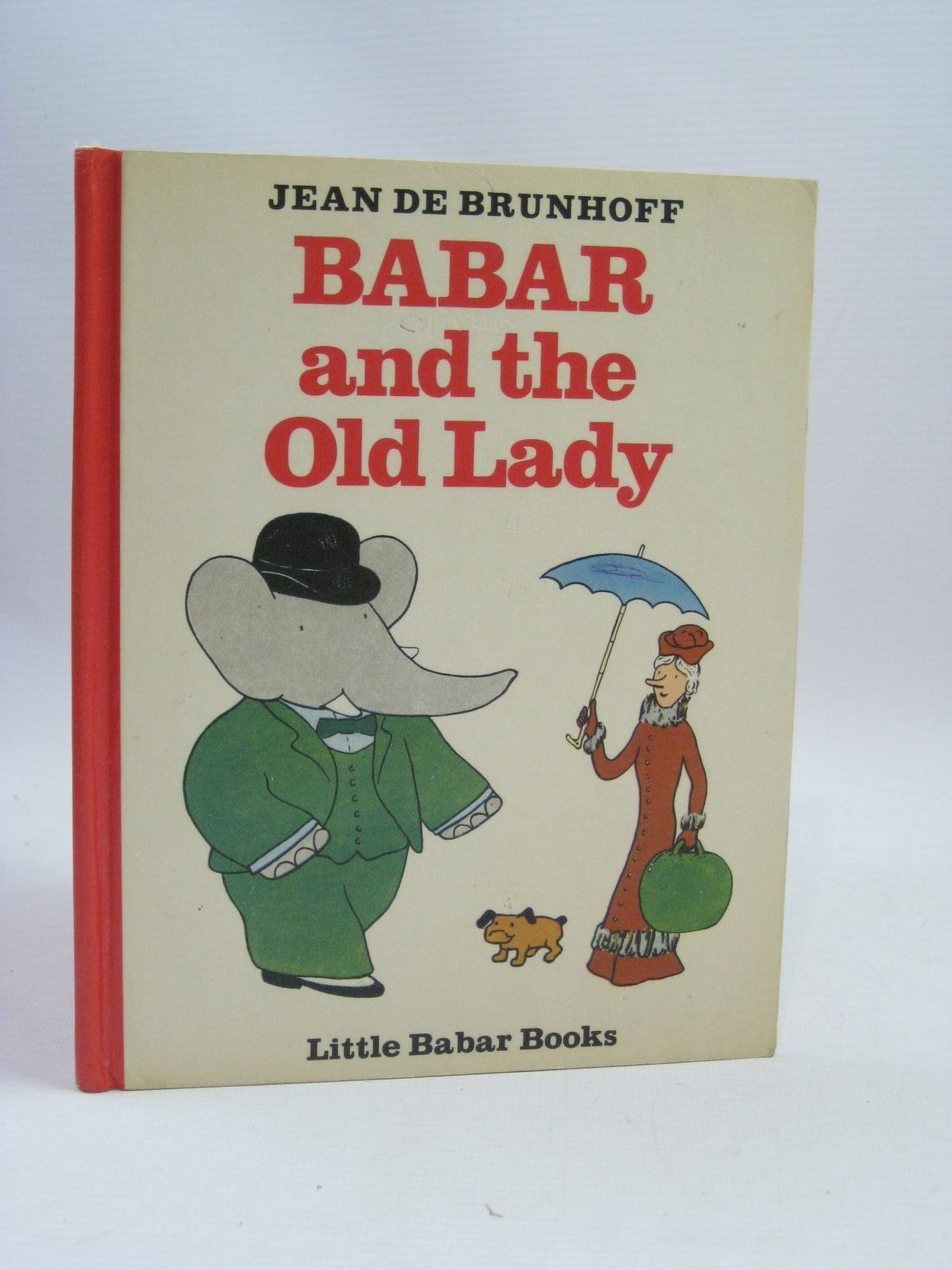 Photo of BABAR AND THE OLD LADY written by De Brunhoff, Jean illustrated by De Brunhoff, Jean published by Methuen & Co. Ltd. (STOCK CODE: 1315679)  for sale by Stella & Rose's Books