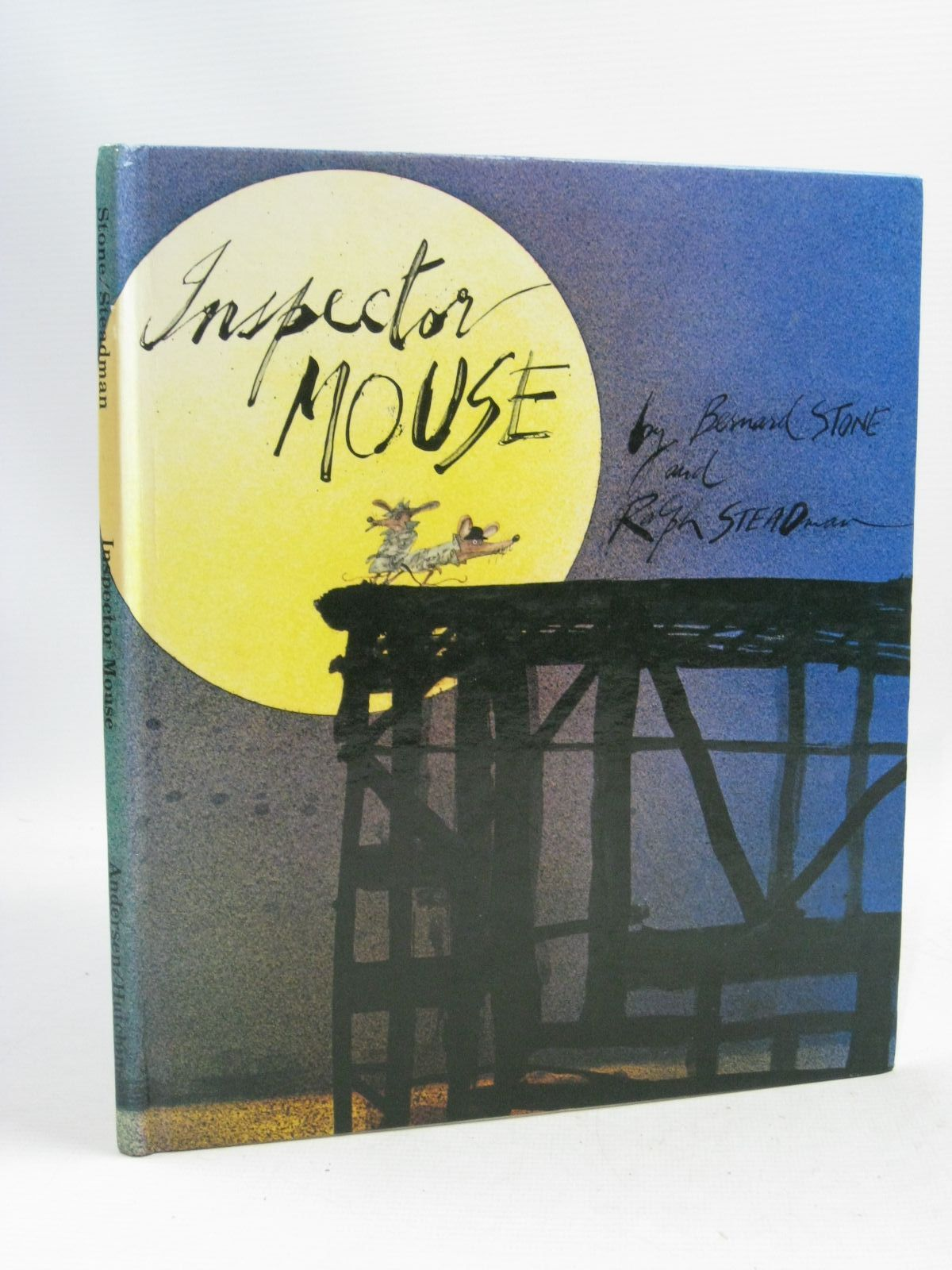 Photo of INSPECTOR MOUSE written by Stone, Bernard illustrated by Steadman, Ralph published by Andersen Press (STOCK CODE: 1315724)  for sale by Stella & Rose's Books