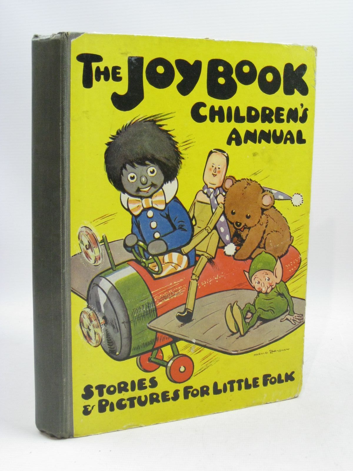 Photo of THE JOY BOOK CHILDREN'S ANNUAL 1924 written by Cowham, Hilda<br />Winchester, Clarence<br />Wynne, May<br />et al, illustrated by Cowham, Hilda<br />Browne, Jacques<br />Bestall, Alfred<br />et al., published by E. Hulton &amp; Co. Ltd. (STOCK CODE: 1315727)  for sale by Stella & Rose's Books