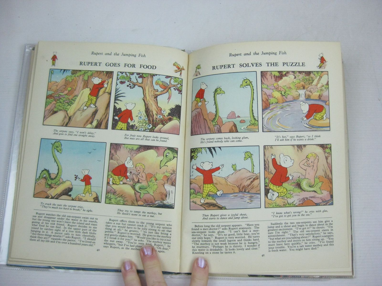 Photo of RUPERT ANNUAL 1950 - ADVENTURES OF RUPERT written by Bestall, Alfred illustrated by Bestall, Alfred published by Daily Express (STOCK CODE: 1315764)  for sale by Stella & Rose's Books