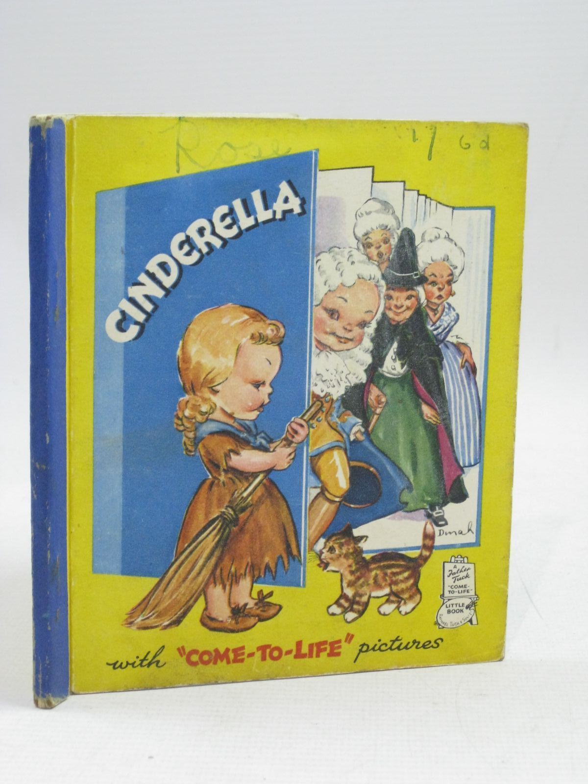 Photo of CINDERELLA illustrated by Dinah, published by Raphael Tuck & Sons Ltd. (STOCK CODE: 1315807)  for sale by Stella & Rose's Books