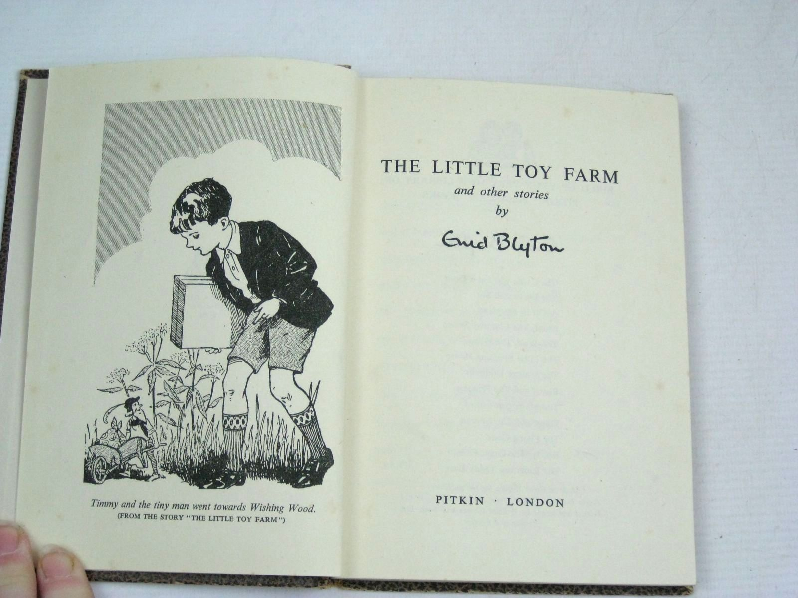 Photo of THE LITTLE TOY FARM AND OTHER STORIES written by Blyton, Enid published by Pitkin (STOCK CODE: 1315835)  for sale by Stella & Rose's Books