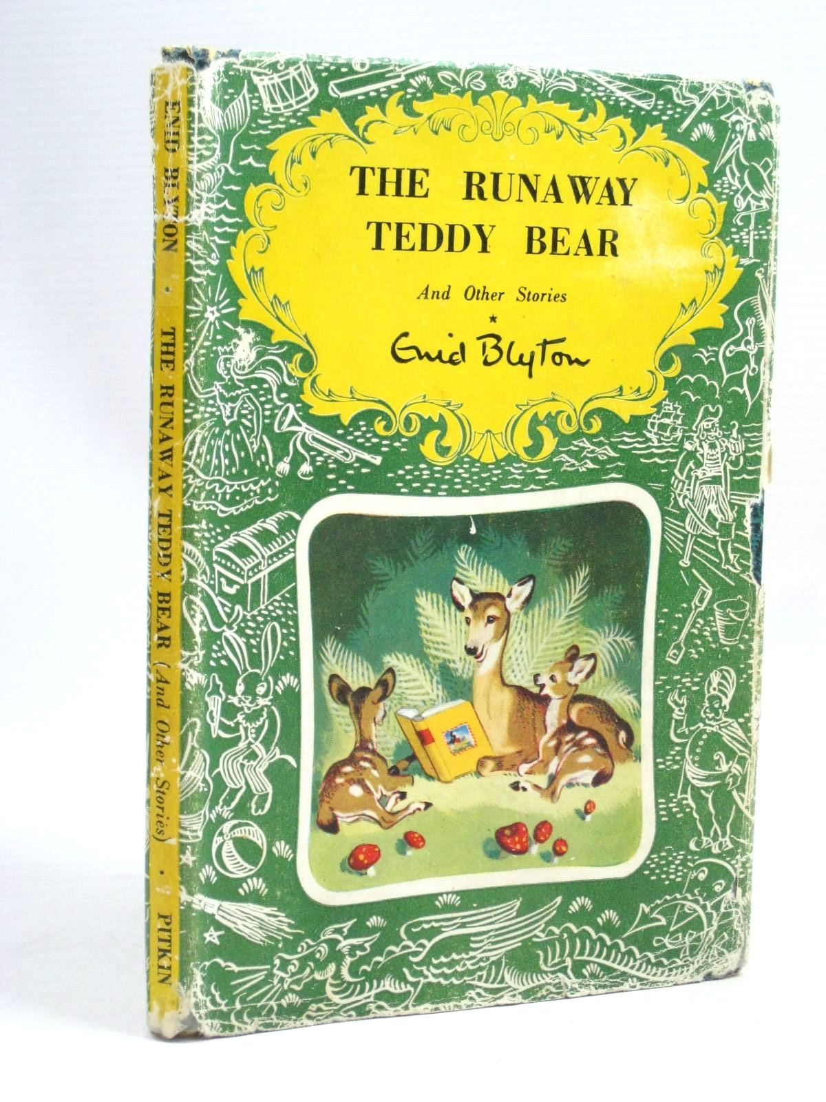 Photo of THE RUNAWAY TEDDY BEAR AND OTHER STORIES written by Blyton, Enid published by Pitkin (STOCK CODE: 1315843)  for sale by Stella & Rose's Books