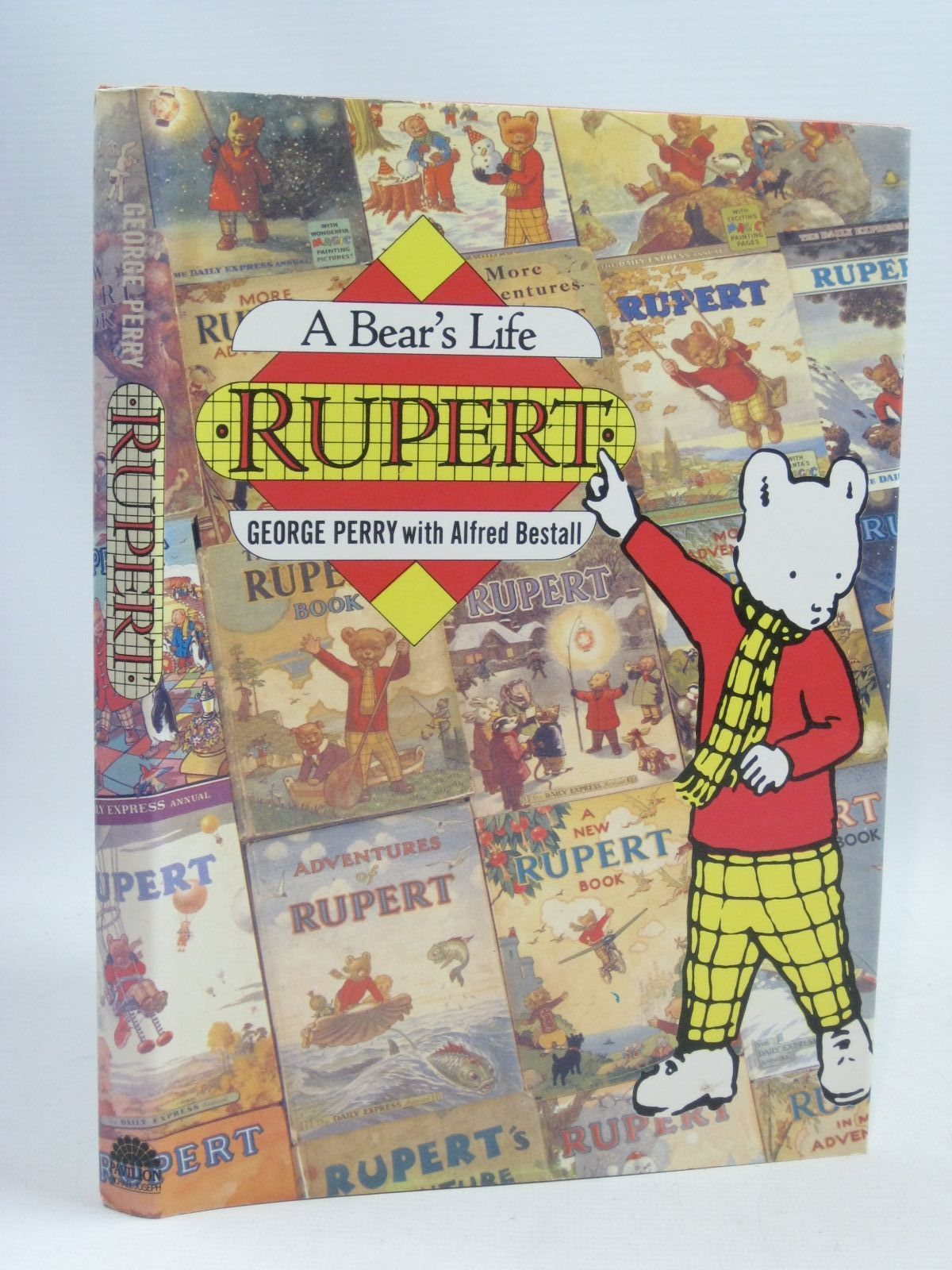 Photo of RUPERT A BEAR'S LIFE written by Perry, George illustrated by Bestall, Alfred published by Pavilion Books, Michael Joseph (STOCK CODE: 1315890)  for sale by Stella & Rose's Books