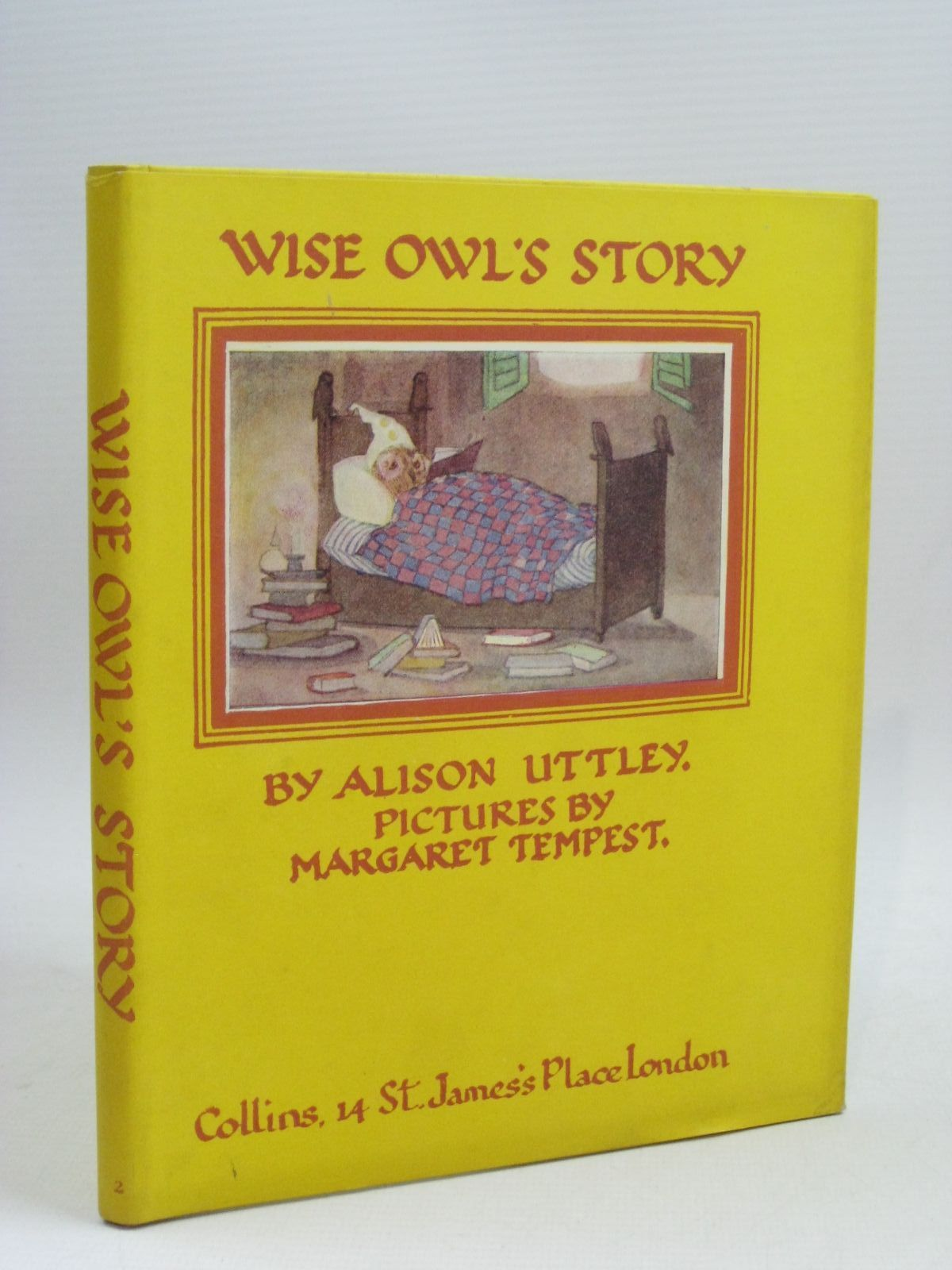 Photo of WISE OWL'S STORY written by Uttley, Alison illustrated by Tempest, Margaret published by Collins (STOCK CODE: 1315905)  for sale by Stella & Rose's Books